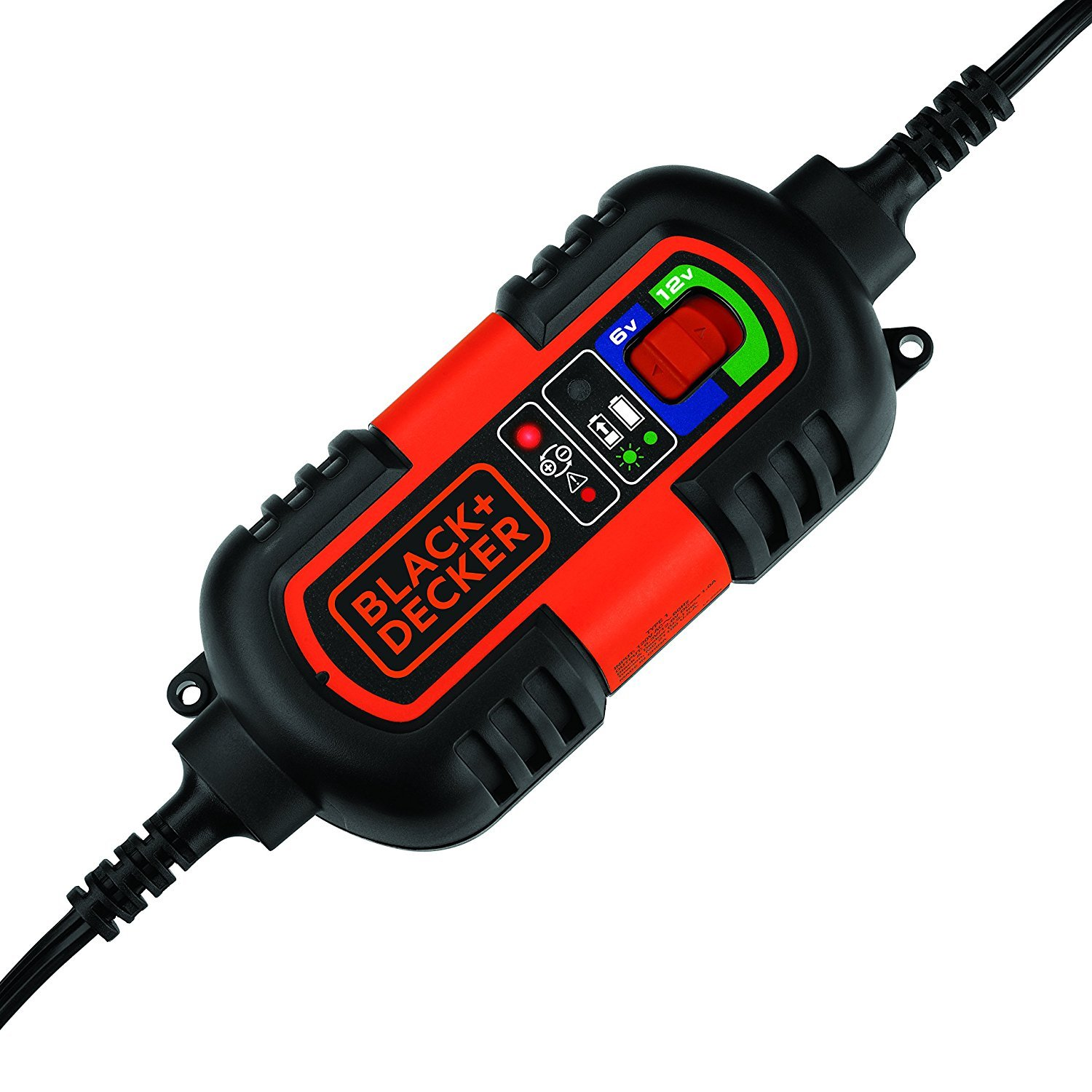 BLACK+DECKER BM3B 6V and 12V Automatic Battery Charger And